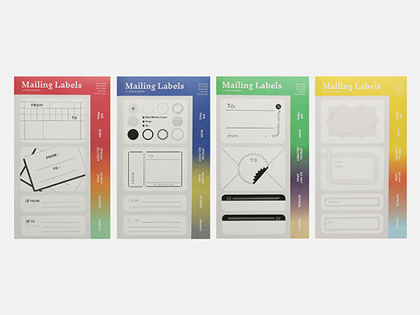 Mailing Labels (4types of design)
